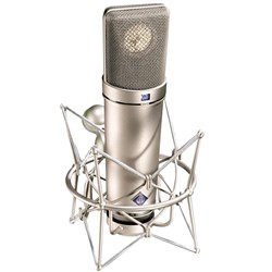 Neumann U87 AI Studio Set Inc. Shock Mount (Nickel)