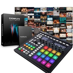 Native Instruments Maschine MK2 w/ Komplete 11 Ultimate Upgrade (Black)