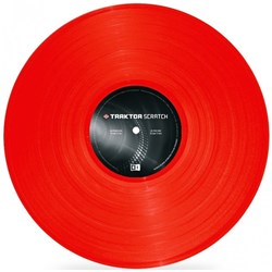 Traktor Scratch Timecode MK2 Vinyl Red