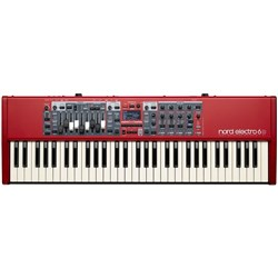 Nord Electro 6D 61-Note Semi-Weighted Waterfall Keyboard