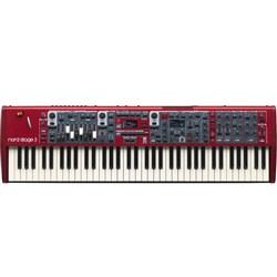 Nord Stage 3 Compact 73 Key Semi Weighted Waterfall Keybed Keyboard