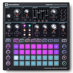 Novation Circuit Mono Station Paraphonic Analogue Synth w/ FREE DECKSAVER