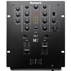 Numark M2 2-Channel Entry-Level DJ Mixer