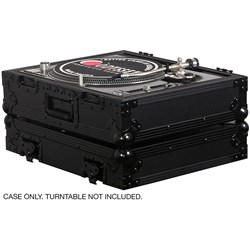 Odyssey Flight Zone Black Label Case for Turntables (FZ1200BL)