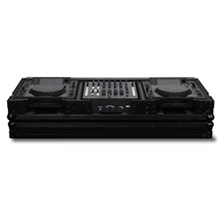 "Odyssey Black Label Coffin: 2 Large CDJ Players & 12"" Mixer (FZ12CDJWBL)"