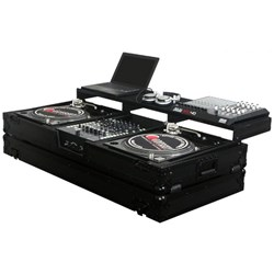 "Odyssey Black Label Battle Coffin: Turntables & 12"" Mixer"