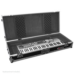 Odyssey FZKB61W 61-Note Wheeled Keyboard Case (for PSR Nord 61-key models, DS61 etc)