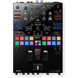 Pioneer DJMS9 Professional 2-Channel Battle Mixer for Serato DJ (Black)