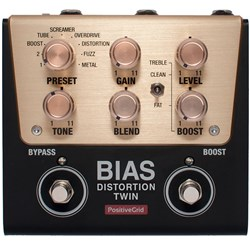 Positive Grid Bias Distortion Twin Tone Match Distortion Pedal
