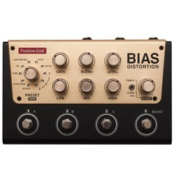 Positive Grid Bias Distortion Pro Tone Match Distortion Pedal