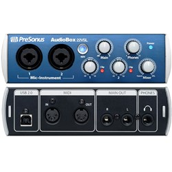 PreSonus Audiobox22VSL 2x2 USB Interface w/ VSL Software