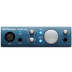 Presonus AudioBox iOne USB & iPad Audio Interface w/ Studio One Artist DAW & Studio Magic