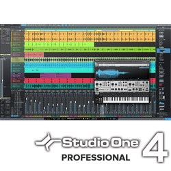 PreSonus Studio One 4 Pro Upgrade From Artist - All Versions (eLicence Only)
