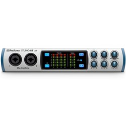 PreSonus Studio 6|8 4x Mic Preamp Audio/MIDI Interface w/ S1 Artist DAW