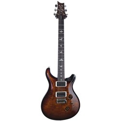 PRS Custom 24 Core Electric Guitar w/ Pattern Thin Neck in Hard Case (Black Gold Burst)