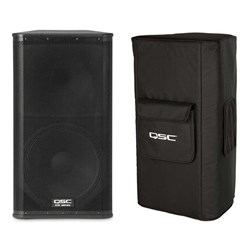 QSC KW152 Powered Speaker w/ Tote Bag