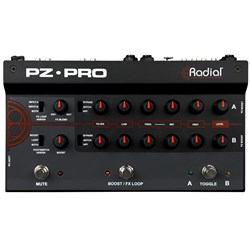 Radial Tonebone PZ-Pro 2-Channel Acoustic Preamp Pedal
