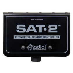 Radial SAT2 Stereo Audio Signal Attenuator & Monitor Controller