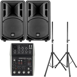 "RCF ART 310-A MK4 10"" Active Two-Way Speaker Pack w/ FREE Bags & Stands"