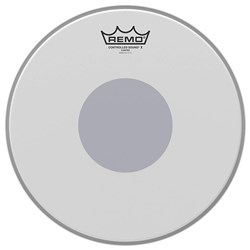Remo CX-0114-10 Controlled Sound X Coated Black Dot Snare Drumhead Bottom Black Dot, 14""