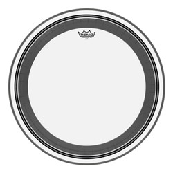 "Remo PR-1322-00 Clear Powerstroke Pro 22"" Bass Drumhead"