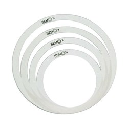 "Remo RO-0244-00 RemOs Ring Packs Sound Control Rings 10"" 12"" 14"" 14"""