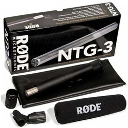 Rode NTG3 RF-Bias Shotgun Microphone (Satin-Nickel)