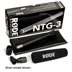 Rode NTG3 RF-Bias Shotgun Microphone (Black)