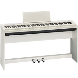Roland FP30WHS Digital Piano with Stand (White)