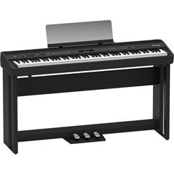 Roland FP90BKS Digital Piano with Stand (Black)