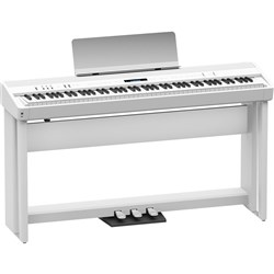 Roland FP90 Digital Piano w/ Stand (White)