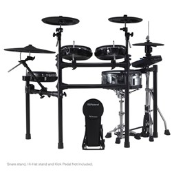 Roland TD27KV V-Drums Kit w/ All Mesh Pads, 2x Crashes, Digital Snare & Ride