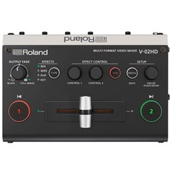 Roland V-02HD Multi Format Video Mixer Mini Switcher