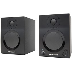 "Samson MediaOne BT4 Powered 4"" Studio Monitors w/ Bluetooth"