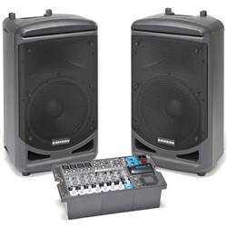 Samson Expedition XP1000 Portable PA with Bluetooth Includes 2 Speakers/Mixer