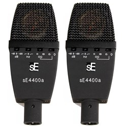 sE 4400a Matched Pair of Large Diaphragm Multi Pattern Condenser Mic