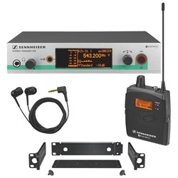 Sennheiser EW 300 IEM G3 In-Ear Monitoring Set (Frequency Band G)