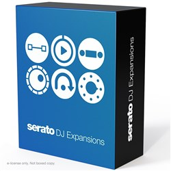 Serato DJ All Expansion Packs w/ Play, FX, Flip, P&T DJ, DVS & Video (Serial)