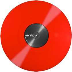 Serato Single Red Control Vinyl: Performance Series