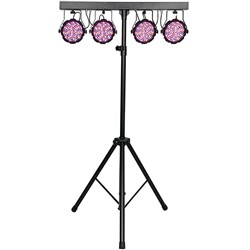 Showtec Compact Power Lightset MKII Value (432 x 10mm) Spots w/ Stand, Bag