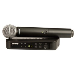 Shure BLX24 / SM58 Wireless Mic System K14