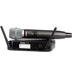 Shure GLX-D-24 / Beta-87-A Handheld Wireless System
