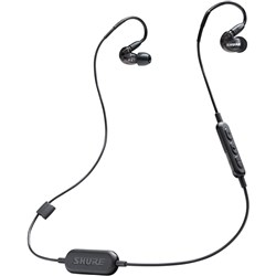 Shure SE215 Wireless Sound Isolating Earphones w/ Bluetooth (Black)