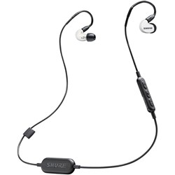 Shure SE215 Wireless Sound Isolating Earphones w/ Bluetooth (White)