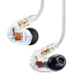 Shure SE425 Sound Isolating Earphones (Clear)