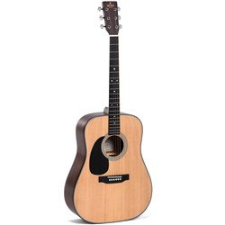 Sigma DM-1L Left-Hand Acoustic Guitar w/ Solid Sitka Spruce Top