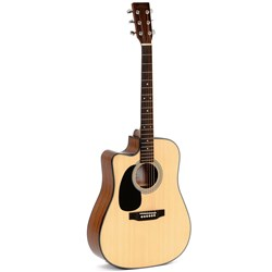 Sigma DMC-1STEL Dreadnought Acoustic Guitar (Left-handed)