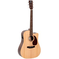 Sigma DRCE Acoustic/Electric Solid Top, Rosewood Back & Sides w/ Cutaway & Pickup