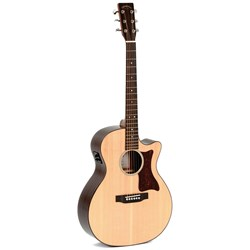 Sigma GRC-1STE Grand OM Acoustic/Electric Guitar