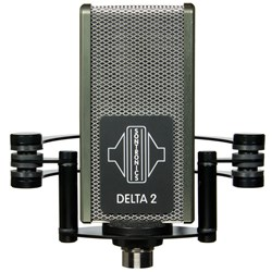 Sontronics Delta 2 Phantom-Powered Ribbon Mic for Guitar Amps & High-SPL Sources